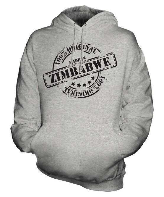 MADE IN ZIMBABWE UNISEX HOODIE  Herren Damenschuhe LADIES GIFT CHRISTMAS BIRTHDAY 50TH
