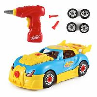 Liberty Imports World Racing Car Take-a-part Toy For Kids With 30 Take Apart ...
