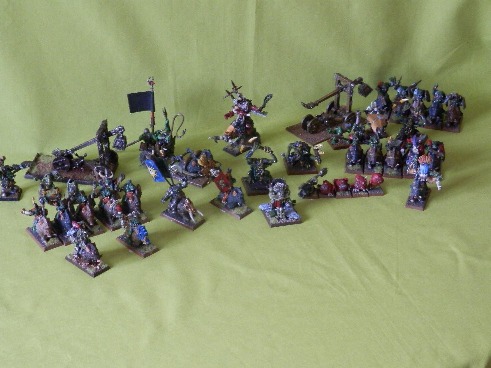 Orks und goblins armee warhammer - viele einheiten zur auswahl