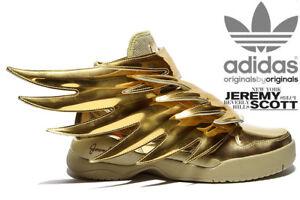 B35651 Nuove Uk5 Adidas 0 Gold scarpe Wings Scott Eu38 Jeremy nuove Js 3 q6B7qFw