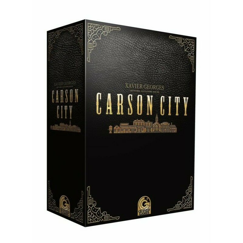 Carson City Big Box Boardgame - New