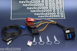 Audi-A3-A4-A6-RNS-E-GPS-PLUG-PLAY-instalacion-adaptador-retrofit-kit-set-GPS