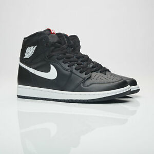cheap for discount 54b1e 891ec Details about NIKE AIR JORDAN 1 RETRO HIGH OG BLACK/WHITE [555088-011] US  MEN SZ 10.5