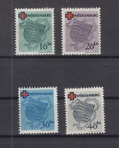 Q4026-GERMANY-FRENCH-ZONE-WURTEMBERG-MI-40A-43A-MINT-MNH-CV-180