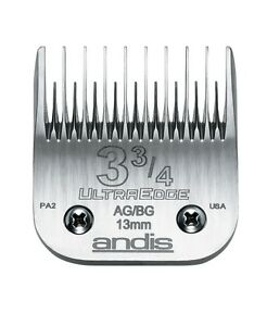 Andis Blade - Taille 9.5cm 'skiptooth' 1.3cm Durci Pour Long Coupe Life