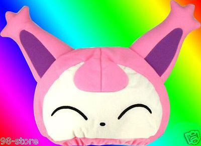 Lot of 2pcs Pokemon Skitty Japanese Plush Fleece Cap Hat Cosplay