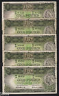 Australia R-33. (1953) 1 Pound - Coombs/Wilson. Commonwealth Bank x 5.. F+-VF+
