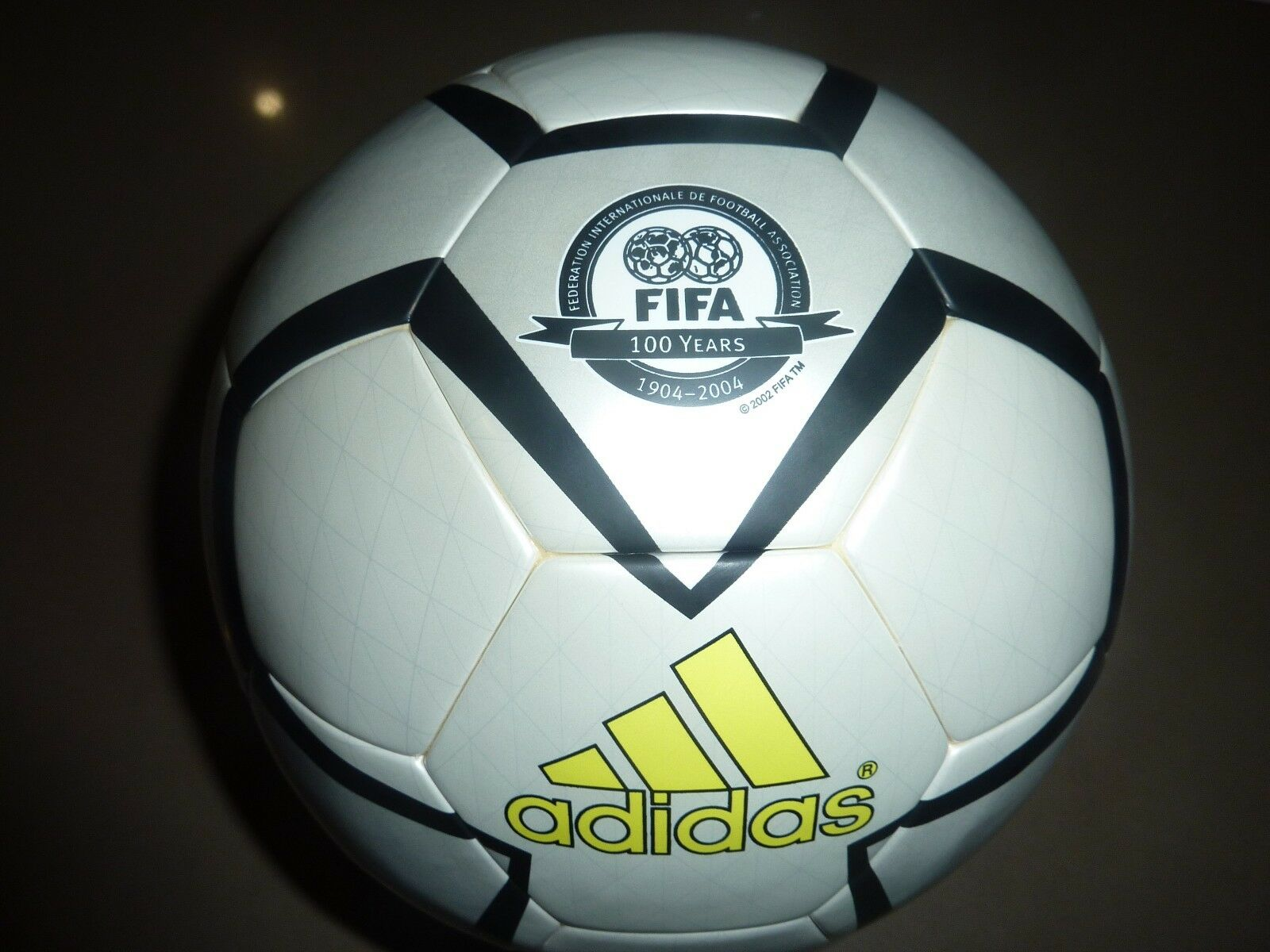 ADIDAS PELIAS 100 YEARS OFFICIAL MATCH BALL SOCCER FOOTBALL FIFA SPECIAL EDITION