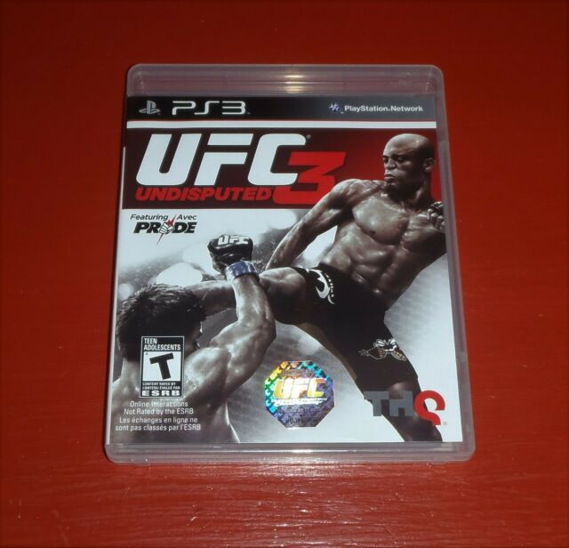 UFC Undisputed 3 (Sony PlayStation 3, 2012 PS3)-Complete