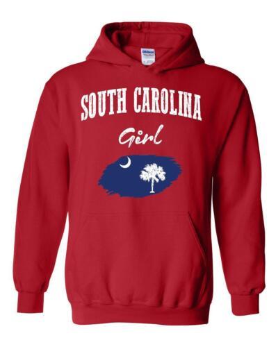 South Carolina Girl  Unisex Hoodie Hooded Sweatshirt