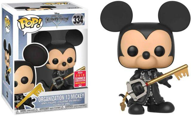 Funko POP! Kingdom Hearts Unhooded Organization 13 Mickey SDCC Exclusive #334