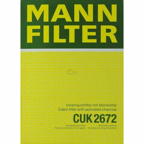 MANN-FILTER PAKET VW Passat 3A2 35I 2.0 16V 1.8 Variant 3A5 2.8 VR6 Syncro