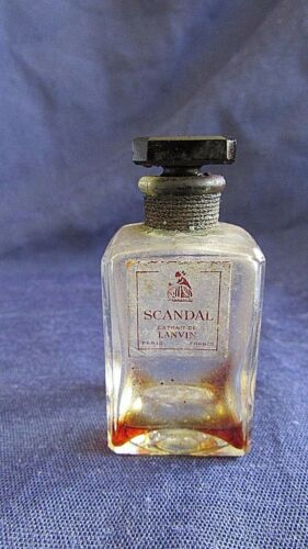 Collectible Vintage SCANDAL Extrait De LANVIN PARIS FRANCIA Mini Bottle Perfume