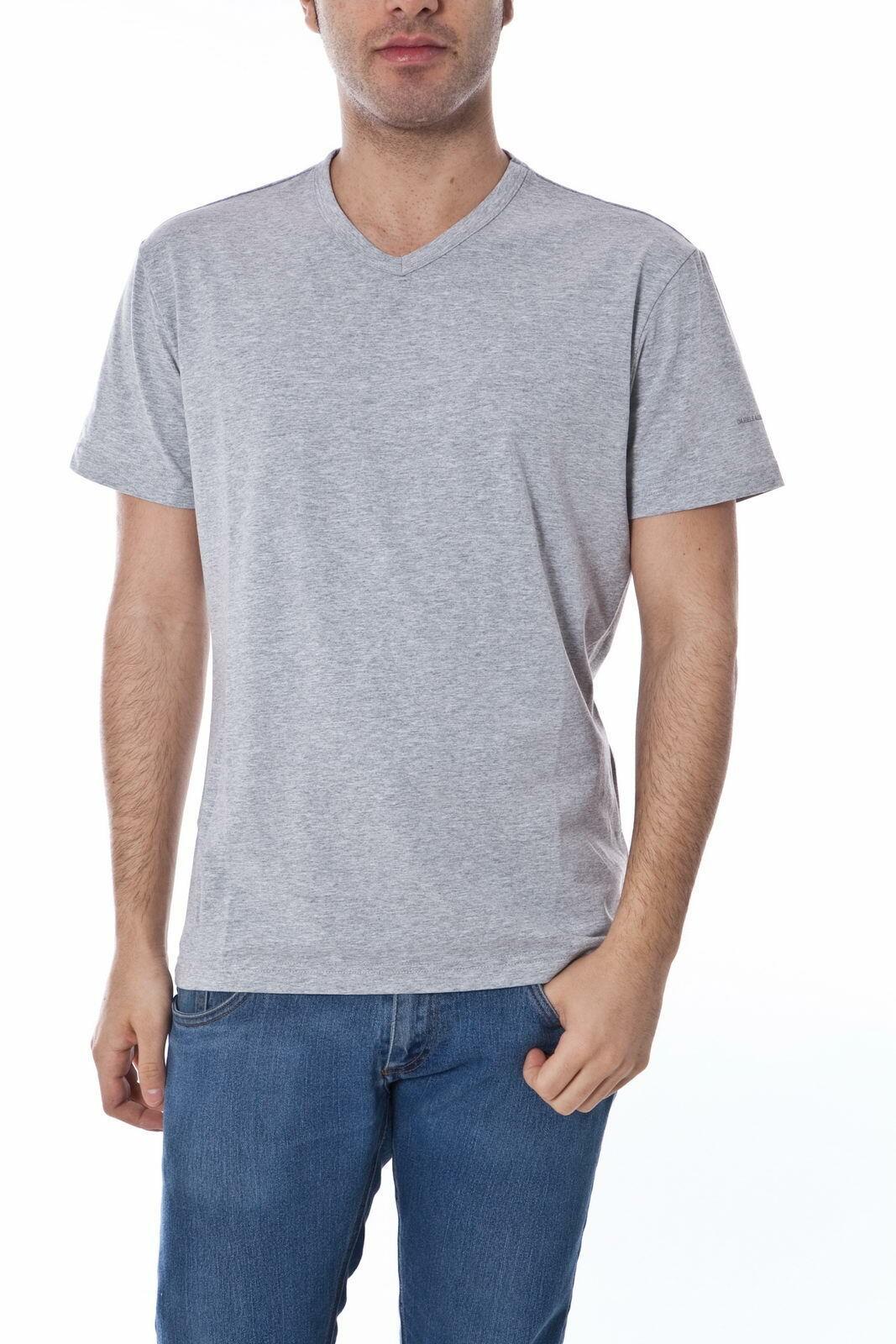 Daniele Alessandrini T Shirt Sweatshirt Man grau M4399E4603300 7 Sz.52 PUT OFFER