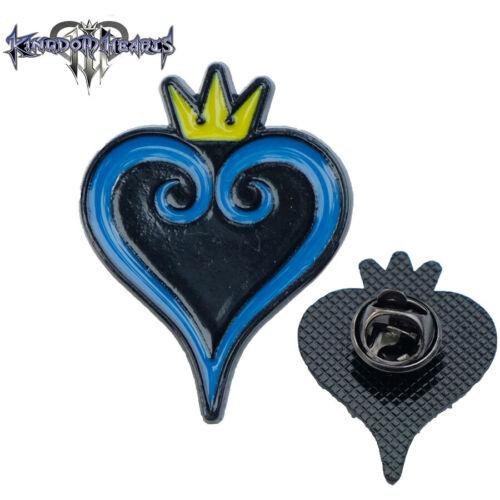 Kingdom Hearts Sora Heart Crown Abzeichen Brosche Pin Badge 3.2CM