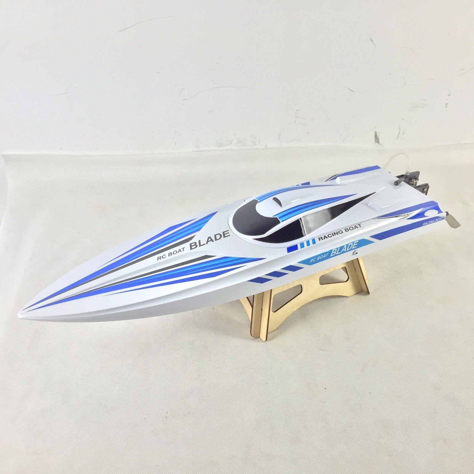 Volantex ABS Casco Blade RC Racing RTR barco modelo con motor servos ESC Batería