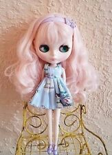Factory Type Neo Blythe Doll Pale Pink Hair - With Outfit OR Stand
