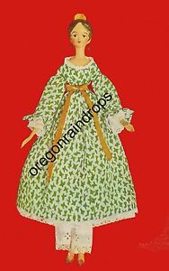 Antique-Jointed-Wood-Doll-amp-Clothes-Pattern