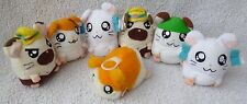 McDonalds 2003 Happy Meal Soft Toy Hamtaro Complete Set Plush Bundle Job Lot