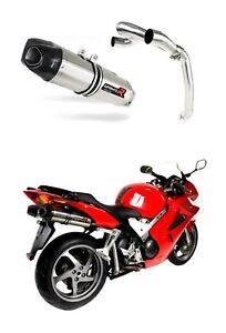 Exhaust-silencer-muffler-DOMINATOR-HP1-HONDA-VFR-800-V-TEC-02-13-DB-KILLER