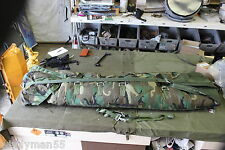 US Military Airborne Aerial Delivery, Cargo Roll, BDU, Woodland Camo, NWT