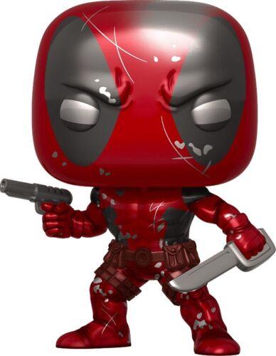 Deadpool First Appearance Metallic 80th Anniversary Pop Vinyl ***PRE-ORDER***