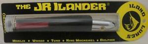 "ILand Lures JR450RD/BK 6-3/4"" Jr ILander Chrome Head Red/Black 9495"