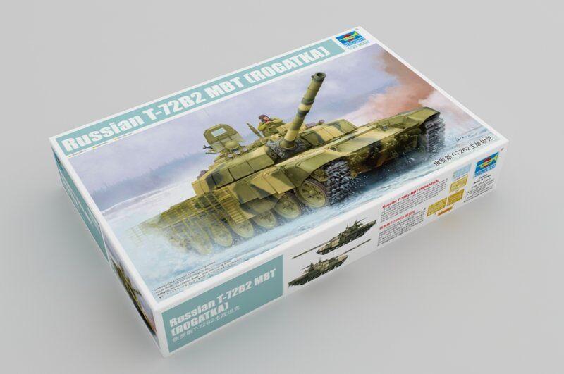Trumpeter 09507 1 35 Russian T-72B2 Main Battle Tank (ROGATKA)