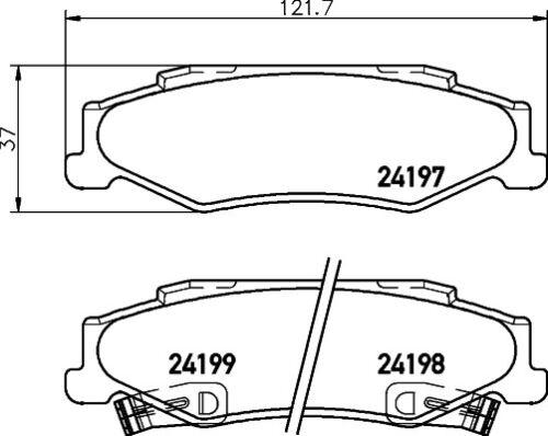 collectivedata.com Car Brakes & Brake Parts Car Parts Mintex Rear ...