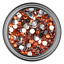 5mm-Rhinestone-Gem-20-Colors-Flatback-Nail-Art-Crystal-Resin-Bead thumbnail 17