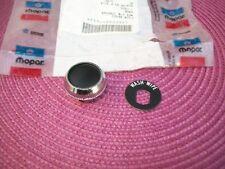 NOS MoPar 1970 71 72 73 74 75 76 77 Dodge B100 B200 B300 Wiper Knob & Decal
