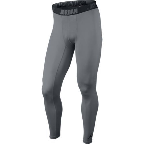 d0b76aa35ac9a7 Nike Jordan AJ All Season Compression Men s Training Tights Gray S 642348  for sale online