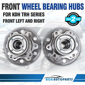 2-x-Front-Wheel-Bearing-Hub-Assembly-for-Toyota-Hiace-Commuter-KDH-TRH-2005-2017
