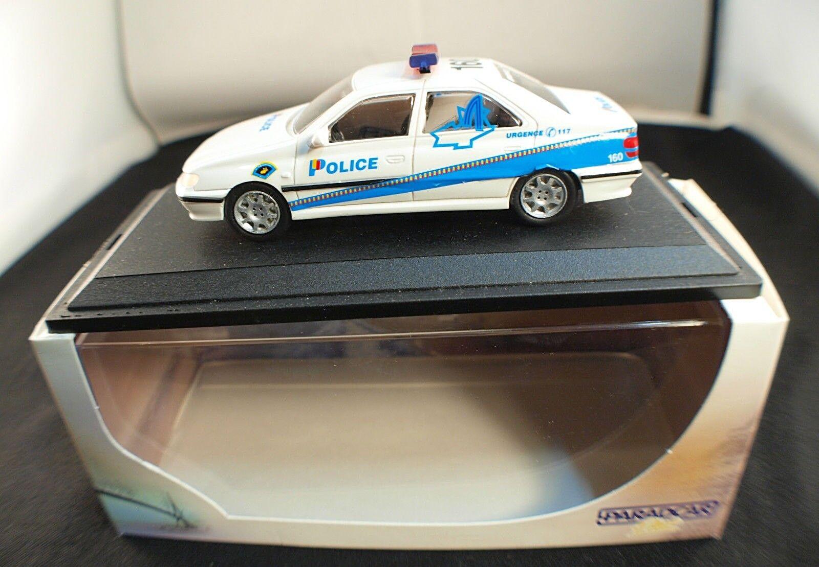 ParadCoche Plus 126 Peugeot 406 Police (Policía) Geneve 1 43 Nuevo en Caja  Caja
