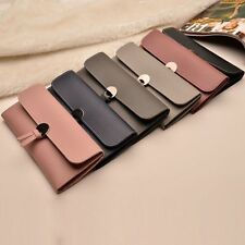 Women PU Leather Clutch Wallet Long Card Holder Case Purse Bag Handbag Fashion