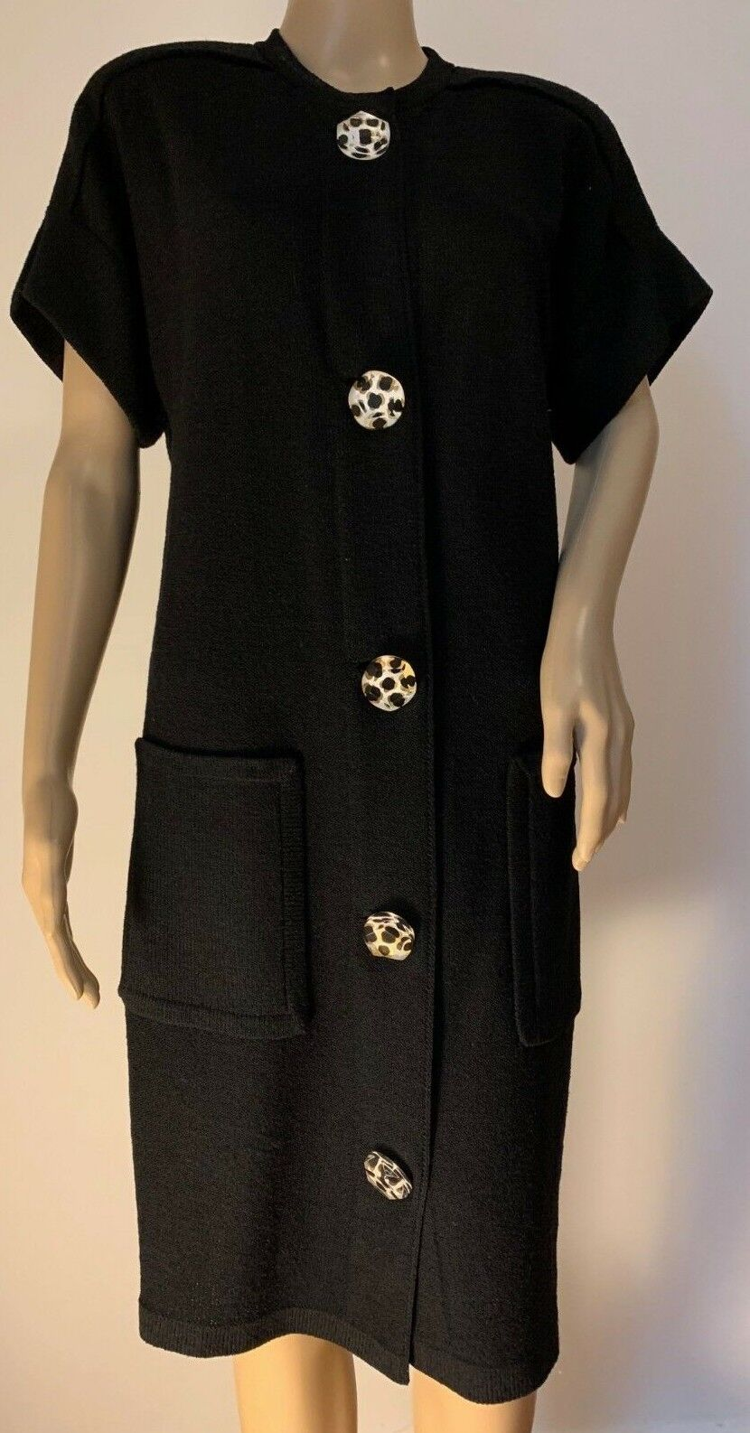 Vintage STEVEN FABRIKANT for SFA knit dress