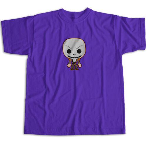 Nightmare Before Christmas Jack Skellington Mens Womens Kids Unisex Tee T-Shirt
