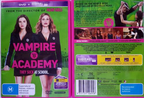 1 of 1 - Vampire Academy (DVD, 2014) R2,4