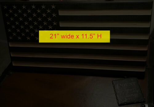 Bullet American Flag 10/% donated to Veterans in need