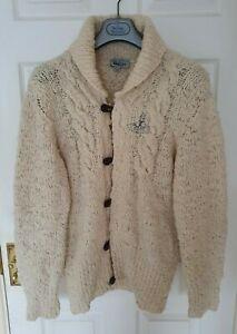 Mens-MAN-by-VIVIENNE-WESTWOOD-cardigan-sweater-jumper-size-medium-RRP-345