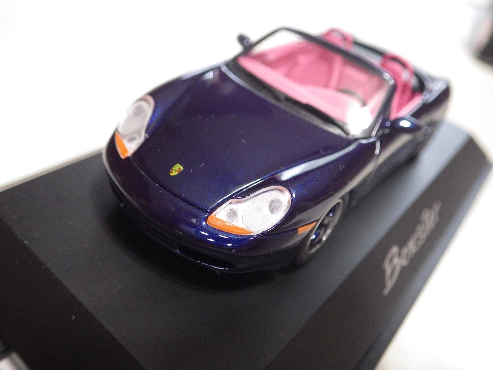 Schuco Limited Edition  Germany  Metallic Dark blu Porsche Porsche Porsche Boxster 1:43 NIB 5d7d59