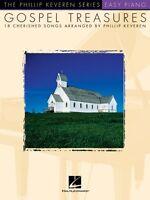 Gospel Treasures Sheet Music Easy Piano Songbook 000310805