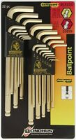 Bondhus Balldriver GoldGuard Finish L-Wrench Double Pack 20899 Tools and Accessories