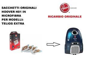 Hoover Telios Sensory Arianne Sacchetti per aspirapolvere H30 H52 x 10 CONF.
