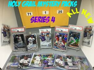 NEW-SERIES-4-HOLY-GRAIL-BASEBALL-MYSTERY-PACK-ROOKIES-CHASES-LUX-ROBERTS