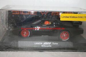 sideways slotcar 1/32 w52 lancia stratos turbo black limited edition