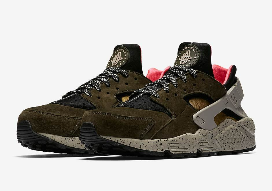 Nike MEN'S Air Huarache Run Premium SIZE 9 BRAND NEW The latest discount shoes for men and women