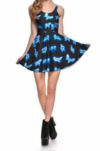 Harry-Potter-Patronus-Expecto-Patronum-Spell-Spirit-Animal-Magic-Skater-Dress