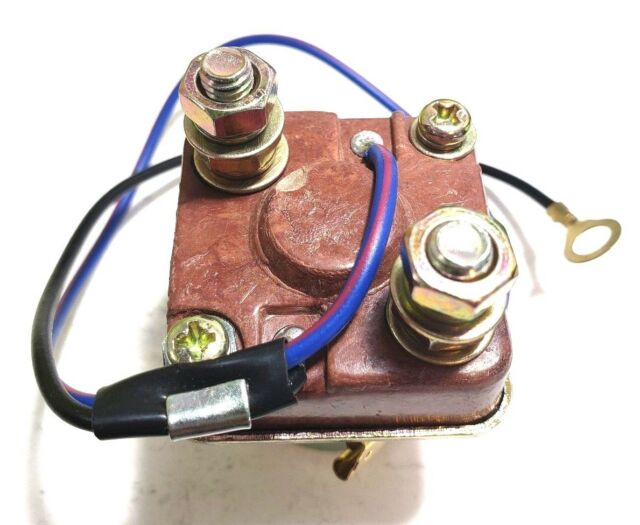 Universal Starter Relay Solenoid Switch 2 Wire  2 Terminal