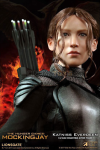 Les jeux de la faim Jennifer Lawrence Katniss Everdeen (Figurine en action) Sideshow